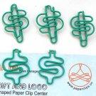 Lot of 96pcs Paper Clip $ DOLLAR $ Shaped/bookmark