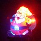 Lot of 25pcs Christmas Santa Claus Pin Brooch CROSS Luminous Party Favor A2