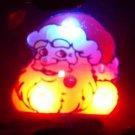Lot of 25pcs Christmas Santa Claus Pin Brooch CROSS Luminous Party Favor A4