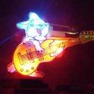 Lot of 25pcs Rabbit Animal Guitar Pin Brooch Luminous Party Favor