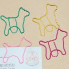 Lot of 96pcs Paper Clip DOG Shaped/bookmark