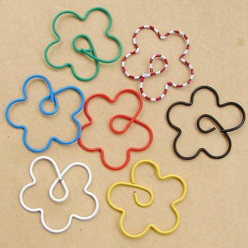 Lot of 96pcs Paper Clip � Flower � Shaped/bookmark