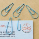 Lot of 96pcs Paper Clip Raindrop Shaped/bookmark