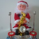 Christmas Electronic music Animated Santa Claus Playing the Saxophone