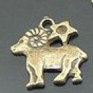 Lot of 300pcs mini Brass Aries doll house miniature toy/jewelry Charm CM931