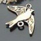 Lot of 30pcs mini Gold Swallow dollhouse miniature toy/jewelry Charm