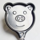 Mini Pancake Fried Frying Egg Pan Pig Shape (No Lid)