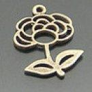 Lot of 200pcs mini Flower dollhouse miniature toy/jewelry Charm B6
