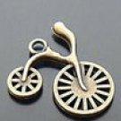 Lot of 200pcs mini Brass Bike dollhouse miniature toy/jewelry Charm B2