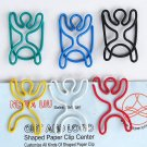Lot of 96pcs Paper Clip Rope Jumping Shaped/bookmark
