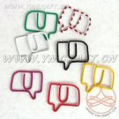 Lot of 96pcs Paper Clip Talking Sign Shaped/bookmark