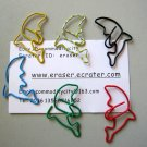 Lot of 96pcs Paper Clip DOLPHINE Shaped animal/Bookmark