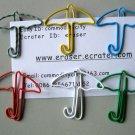 Lot of 100pcs Paper Clip ☂ Umbrella ☂ Shaped/bookmark