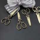 Lot of 100pcs mini Brass Scissors dollhouse miniature toy/jewelry Charm CM819