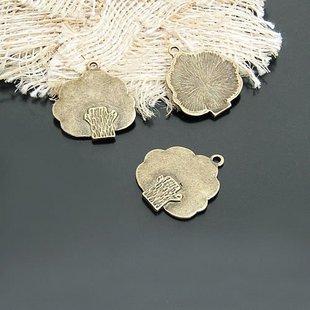 Lot of 200pcs mini Brass tree dollhouse miniature toy/jewelry Charm B6 CM890