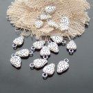 Lot of 500pcs mini silver Strawberry dollhouse miniature toy/jewelry bracelet alloy Charm