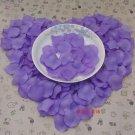 Lot of 480pcs Fake Purple Wedding Blue Rose Petal Life Size