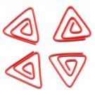 Lot of 96pcs Paper Clip Triangle Shaped / Bookmark office