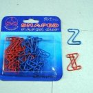 Lot of 96pcs Paper Clip Z Alphabet Shaped bookmark / office