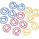 Lot of 96pcs Paper Clip @ Shaped / Bookmark office