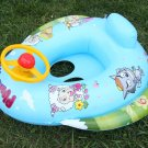 Inflatable Baby Swimming Seat Car Shaped/ Floating Ring for Kid B2