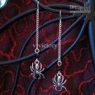 Halloween Dangley Spider Earring / Emo Goth Gothic WGW