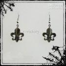 Fleur De Lys Earrings / Goth Twilight Earring