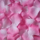 Lot of 480pcs Fake Pink white Wedding Rose Petal Life Size