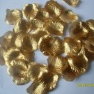 Lot of 300pcs Fake Gold Wedding Rose Petal Life Size B2