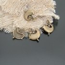 Lot of 300pcs Bird Chicken 21 X 17MM dollhouse miniature toy/jewelry bracelet  metal alloy Charm