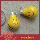 10 x Cartoon Bell Dog Pet Cat Collar Bulb 2cm