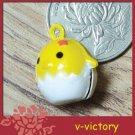 10 x Cartoon Bell Dog Pet Cat Collar Egg New Born Chick Chicken  2cm