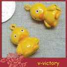 10 x Cartoon Bell Dog Pet Cat Collar Duck 2cm B3