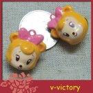 10 x Cartoon Bell Dog Pet Cat Collar Mickey Mouse 2cm
