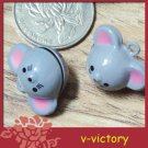 10 x Cartoon Bell Dog Pet Cat Collar Mouse 2cm B3