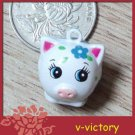 10 x Cartoon Bell Dog Pet Cat Collar Pig 2cm