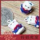 10 x Cartoon Bell Dog Pet Cat Collar Pig 2cm B5