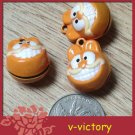 10 x Cartoon Bell Dog Pet Cat Collar Garfield Cat 2cm