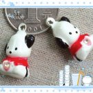 10 x Cartoon Bell Dog Pet Cat Collar Snoopy Dog  2cm A1