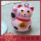 5 x  Big Cartoon Bell Dog Pet Cat Collar Fortune Cat 3cm