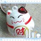 5 x  Big Cartoon Bell Dog Pet Cat Collar Fortune Cat 3cm A2