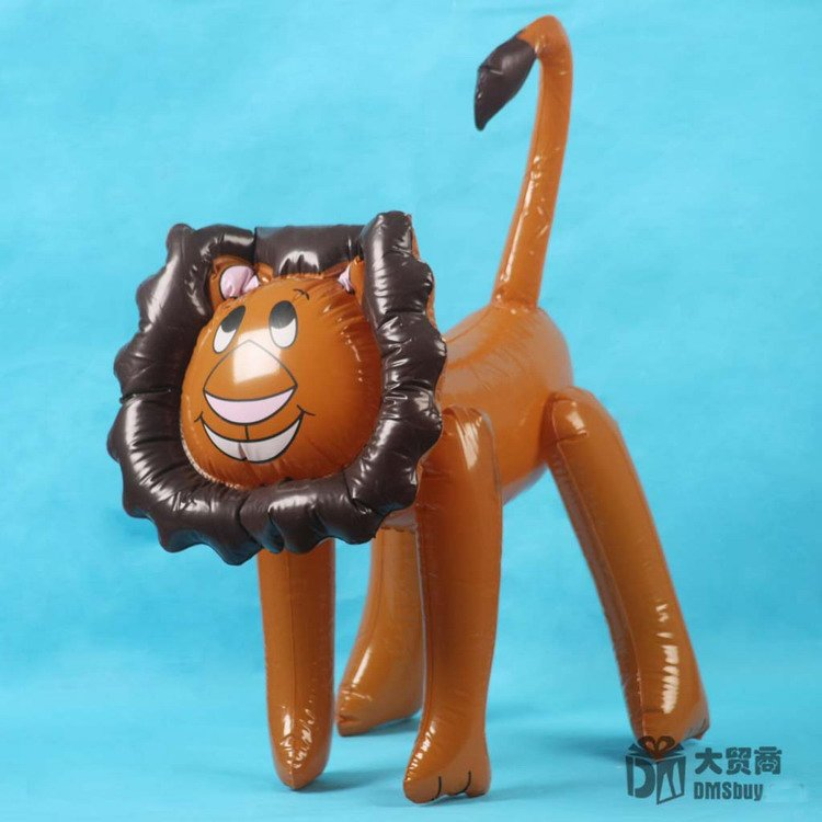 52cm Inflatable Lion Animal Summer Swimming Swim Toy