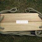 Classic Birch Wood Tree Swing Kit for Kid outdoor fun b3