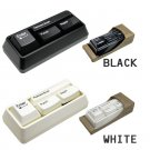 Keyboard Stationary Set Stapler / Brush / Punch / Paper clip Adsorb Mult Function