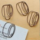 Lot of 200pcs Paper Clip Wheel Shaped / Bookmark office