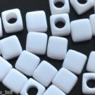 500g Assorted Acrylic Bead / Acrylic Square Plain Cube Beads Charm 7mm/ jewelry accessory