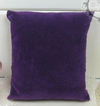 50pcs Jewelry Display Bracelet Anklet Watch Pillow Velvet Purple