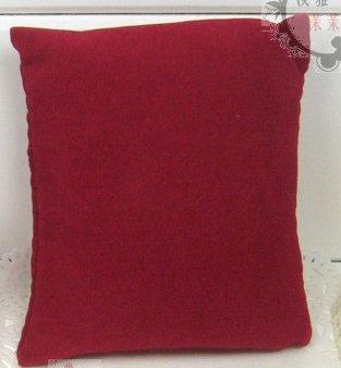 50pcs Jewelry Display Bracelet Anklet Watch Pillow Velvet Dark Red