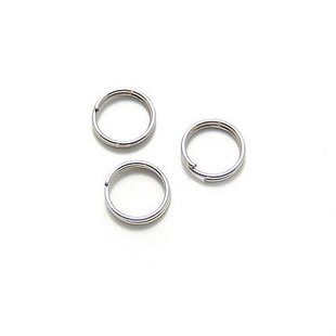 Lot of 500g Double Jump Ring 12 x 0.7mm Finding Accessory silver plated