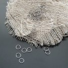 Lot of 7000pcs Jump Ring 5 x 0.5mm Finding Accessory Rhodium